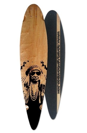Boards - Roadrash Board Co Classic Pintail - Indian