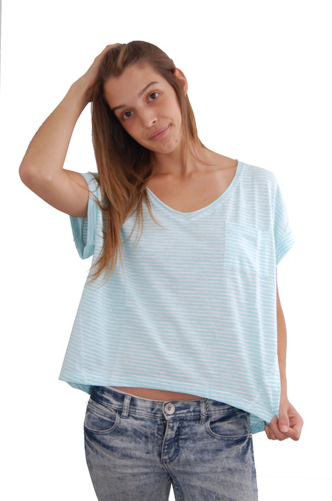 Mangas Cortas - Billabong Remera Step it Stripes