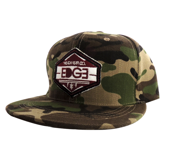 Viseras Planas - Edge Gorra Steep and Deep Camo