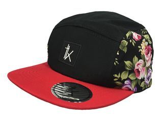 Five Panels - Tomi Kaa Gorra TK Red Flower