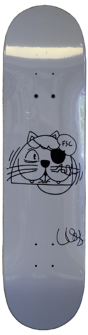 Boards - Mystery Skateboards FAMOUS STREETART CAT  7.75