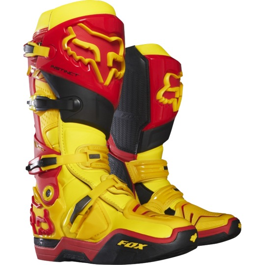 Fox Head Botas Motocross Fox Head Instinct Mxon - Edicion Limitada