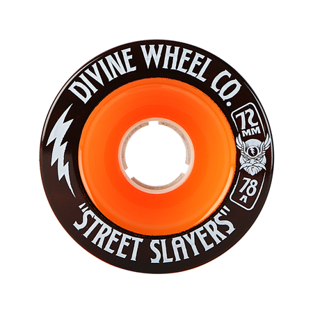 Wheels - Divine Street-Slayers-72mm-Orange
