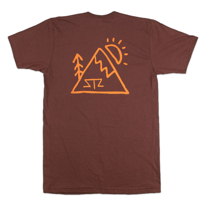 Tees - STZ Mtn. Sketch | Burgundy