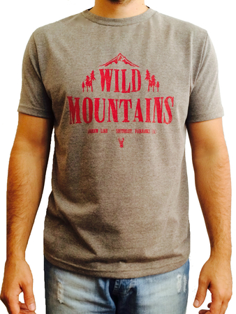 Mangas Cortas - Blueridge Remera Wild Mountains