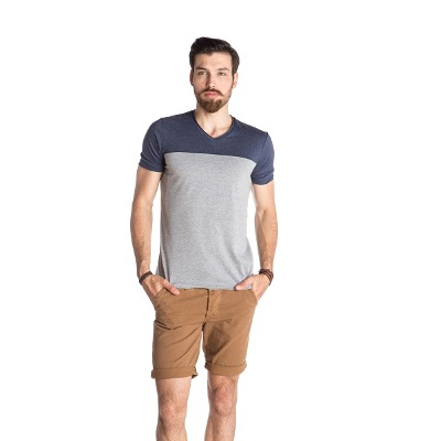 Indumentaria - Kout Remera Combinada Chester- Kout Hombre
