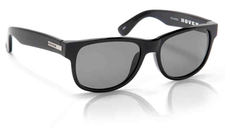 Sunglasses - Hoven Vision BIG RISKY- Black Gloss Polarized