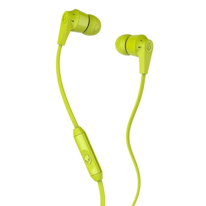 Skullcandy Auriculares Skullcandy Riot Hot Lime Mic Color Lima