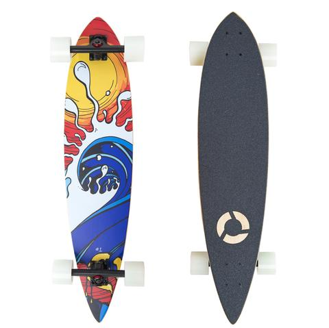 Clothing - Concrete Coast Artist Series Longboard: Mountain Ridge