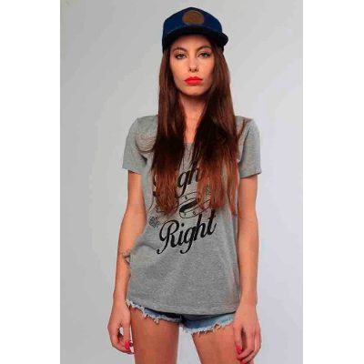Mangas Cortas - Fight For Your Right Remera Fortune Girls