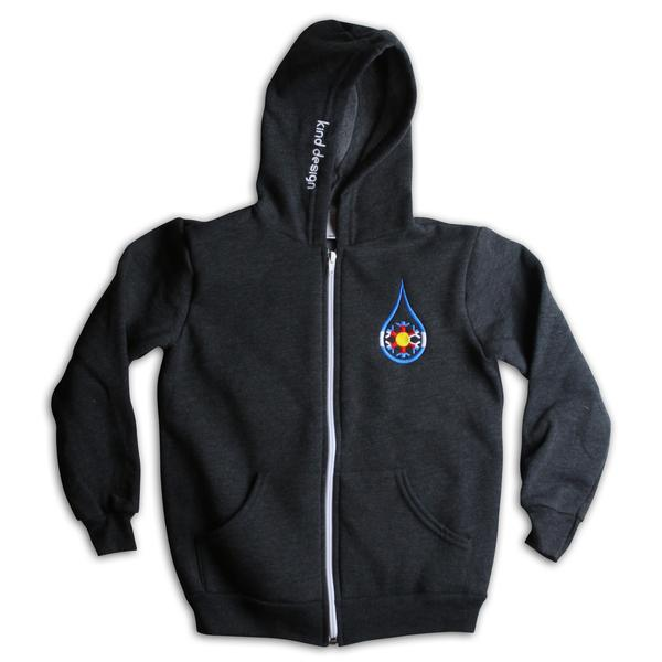Zip Hoodies - Kind Design Youth Kind Colorado Zip-up Hoodie