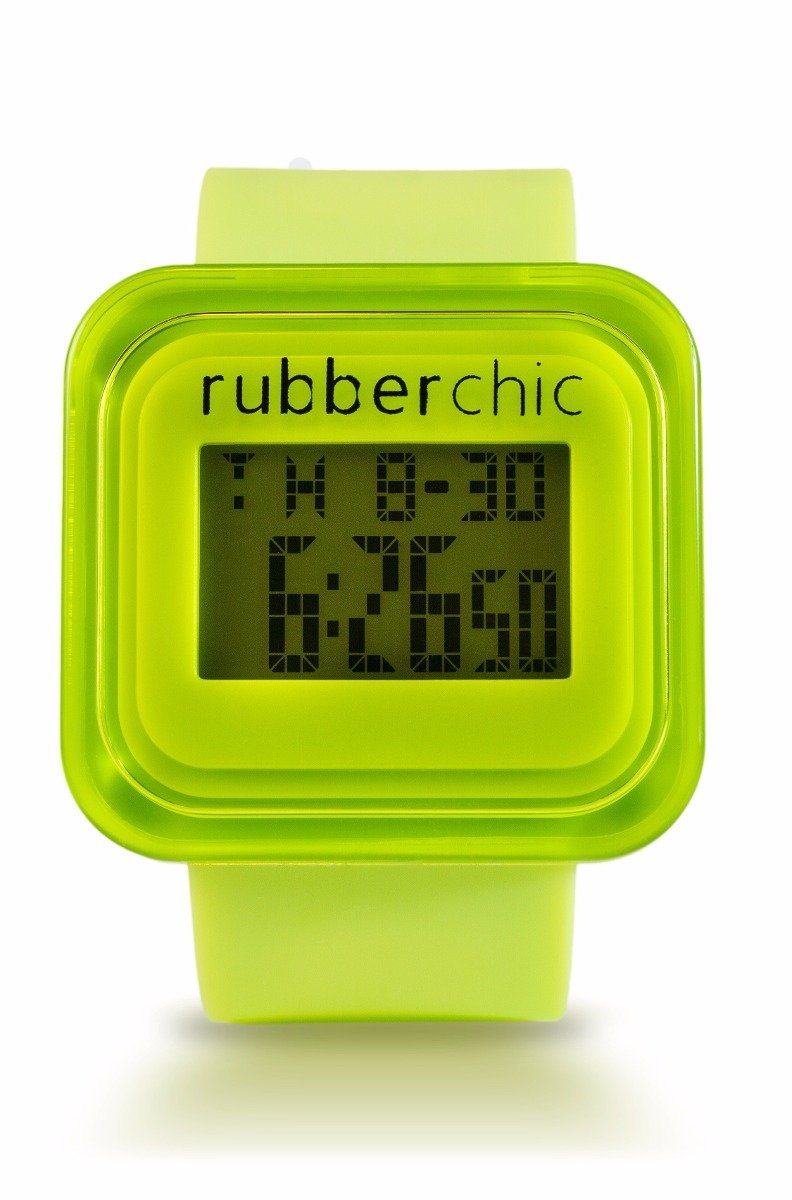 Relojes - Rubberchic Reloj Mini Box Green