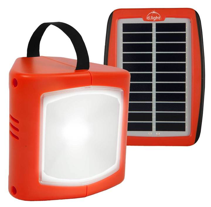 D.light Design S300 Solar LED Rechargeable Lantern & Cell Phone Charger