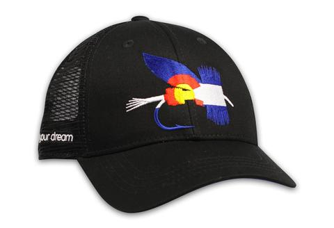 Ball Caps & Snapbacks - Kind Design CO Fly Trucker Cap