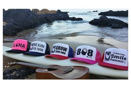 Ball Caps & Snapbacks - Hi Minded Mas Aloha Por Favor Trucker Hat