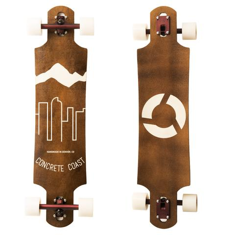 Clothing - Concrete Coast Blue Skyline Longboard