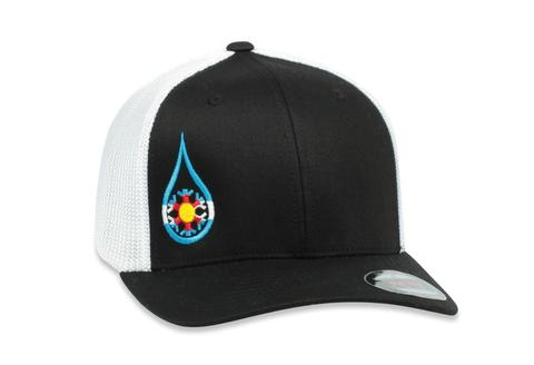 Ball Caps & Snapbacks - Kind Design Kind Colorado Flexfit Mesh Cap