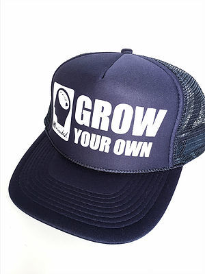 Ball Caps & Snapbacks - Hi Minded Grow Your Own Trucker Hat