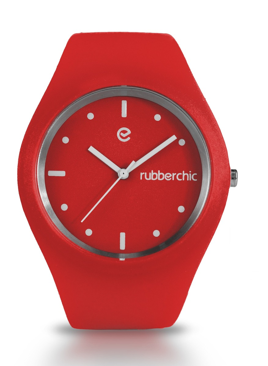 Relojes - Rubberchic Reloj Sense Red