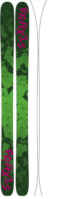 Praxis Skis Backcountry (Ultra Light) - Touring Series (2015)