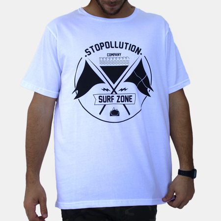 Mangas Cortas - Stopollution Remera Flags