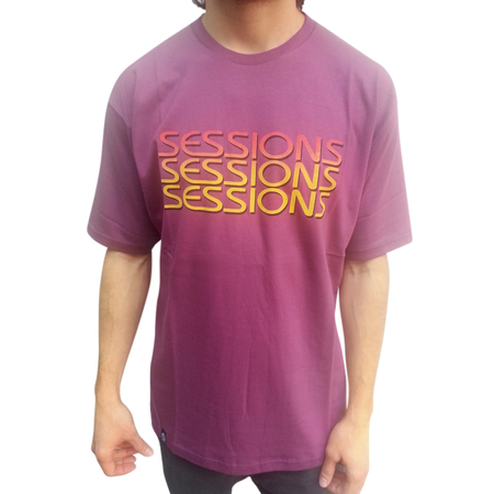 Mangas Cortas - Sessions Remera Three
