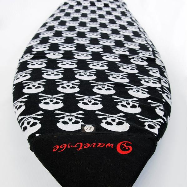 Bags & Backpacks - Wave Tribe Skull Eco Boardsock - Shortboard
