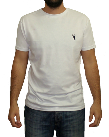 Mangas Cortas - Blueridge Remera White Blueridge