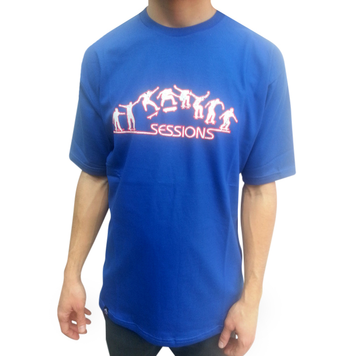Mangas Cortas - Sessions Remera Skater