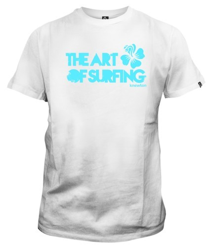 Mangas Cortas - Knewton Remera The Art of Surfing