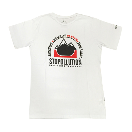 Mangas Cortas - Stopollution Remera Official V