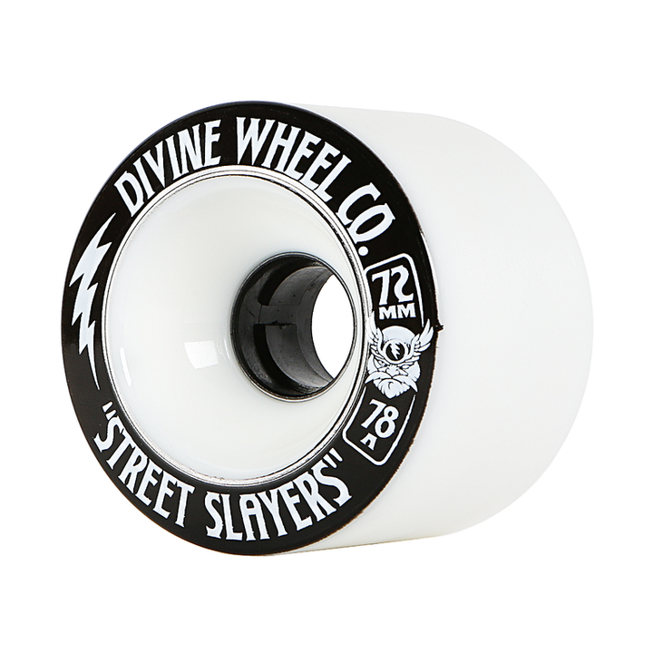 Wheels - Divine Street-Slayers-72mm-White