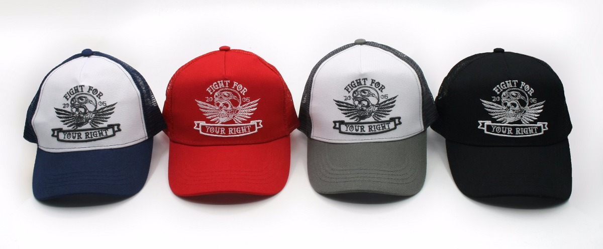 Truckers - Fight For Your Right Gorra Trucker Parana