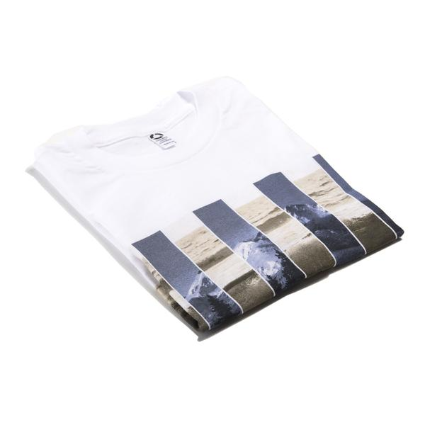 Tees - Concrete Coast Mountain Wave Tee - White