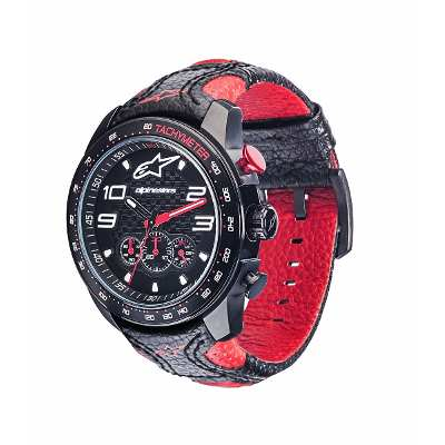 Alpinestars Reloj Pulsera Alpinestars Tech Watch Chrono Leathe Pre-venta