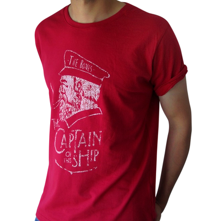 Mangas Cortas - The Bones  Remera Captain