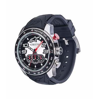 Alpinestars Reloj Pulsera Alpinestars Tech Watch Chrono Steel Pre-venta