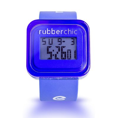 Relojes - Rubberchic Reloj Box Blue