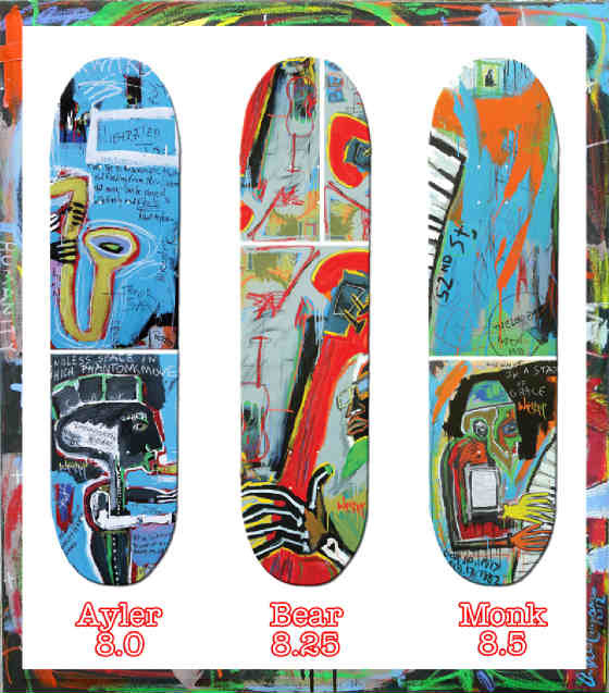 Worship Skateboards Collectors set of all three from the artist series by A. Chaparro