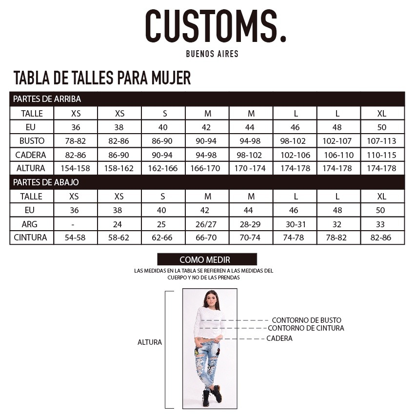 Camperas - Customs BA Campera Eloisa / Camperon Cindy