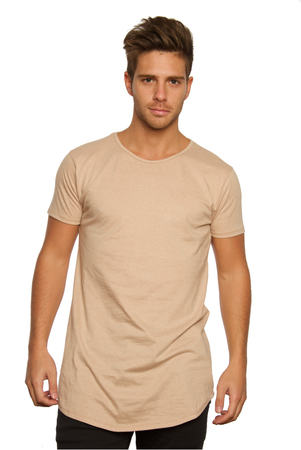 Mangas Cortas - Ziggurat Remerón Long-Fit Beige
