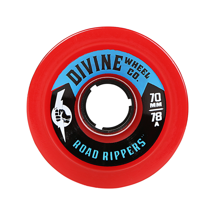 Wheels - Divine Road-Rippers-70mm-Red