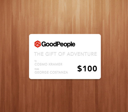 More - GoodPeople $100 GoodPeople Gift Card