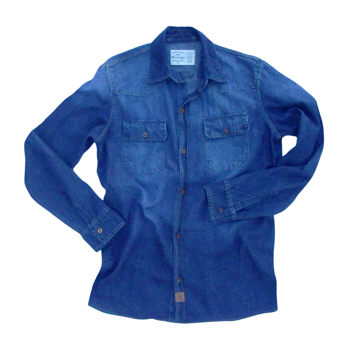 Mangas Largas - Blueridge Camisa Jean