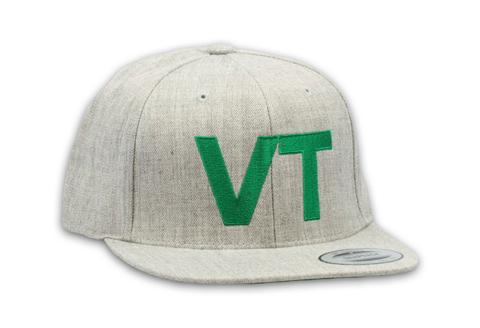 Ball Caps & Snapbacks - Kind Design VT Flat Brim Cap