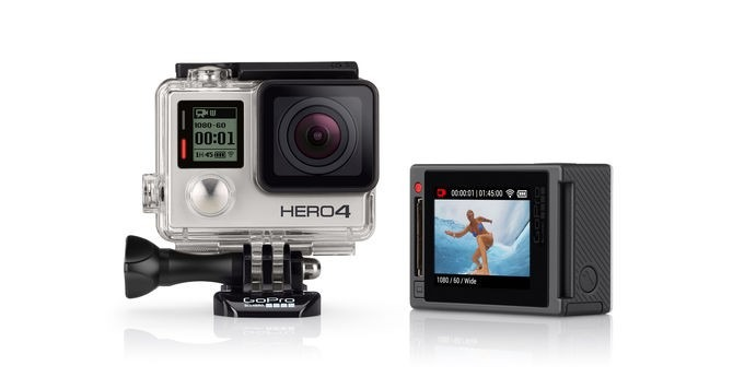GoPro Camara Gopro Hero 4 Silver Edition 1080p Wifi Touchscreen