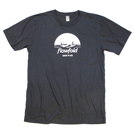 Tees - Flowfold Island Icon T-Shirt