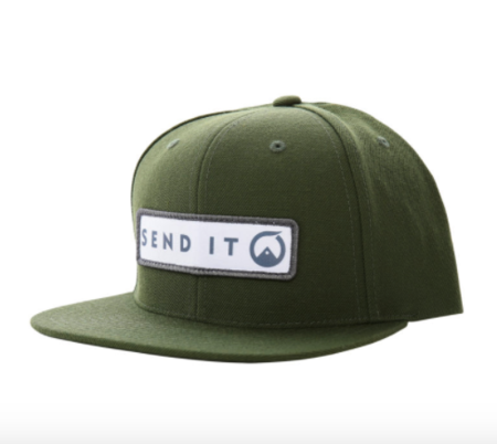 Ball Caps & Snapbacks - Send It  Martis Snapback