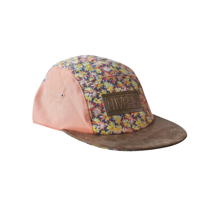 Five Panels - Niveria Gorra Pinky Flowers