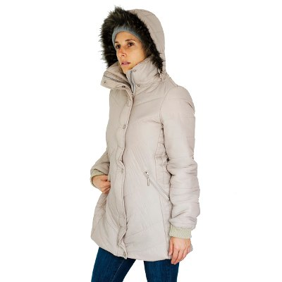 Chelsea Market  Chelsea Market Camperas Mujer Invierno Parka Piel Inflables